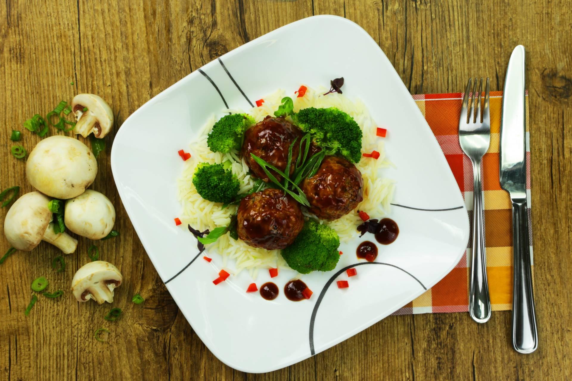 Sweet-ish Meatballs