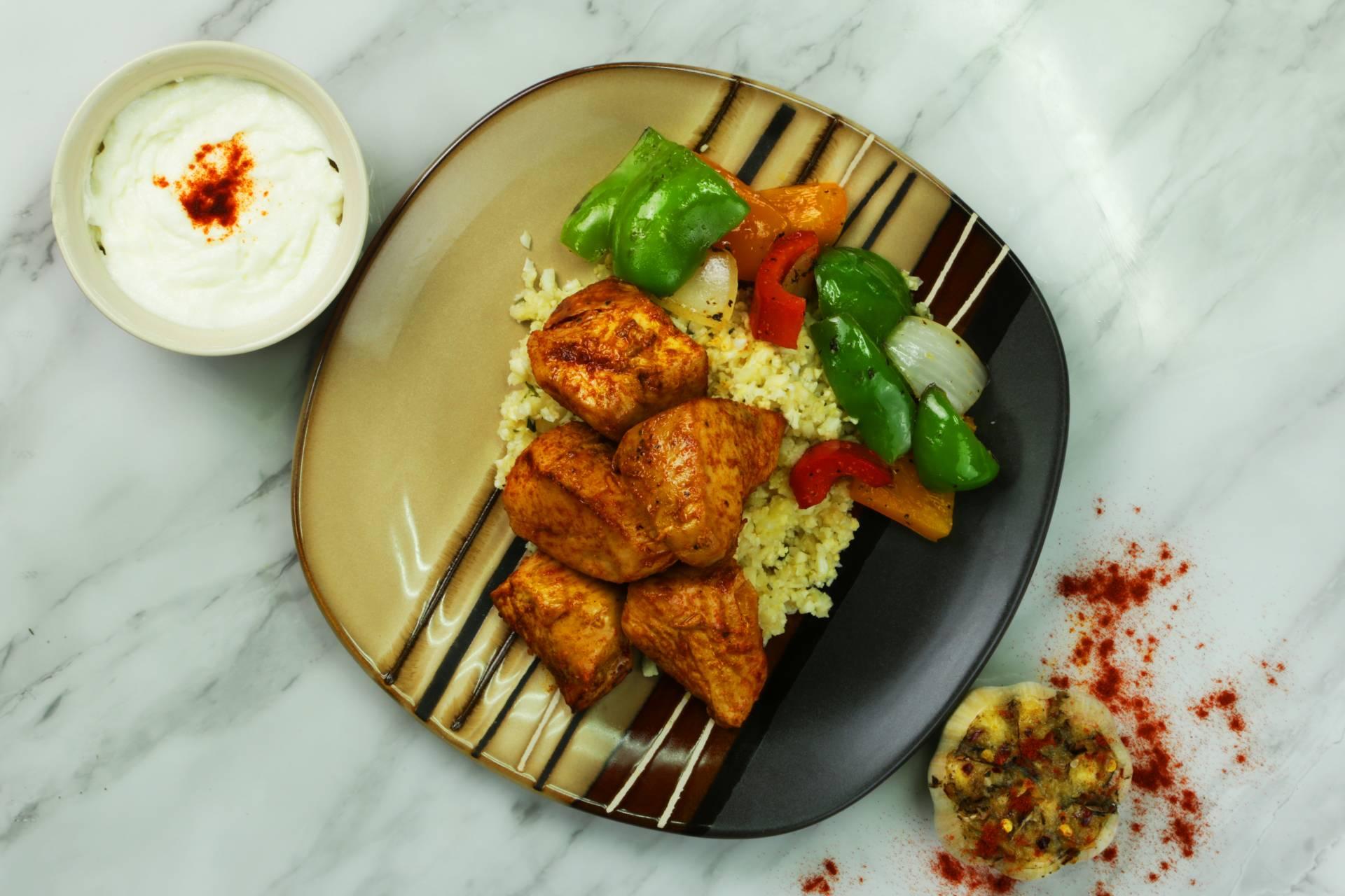 Keto Chicken Shish Tawook