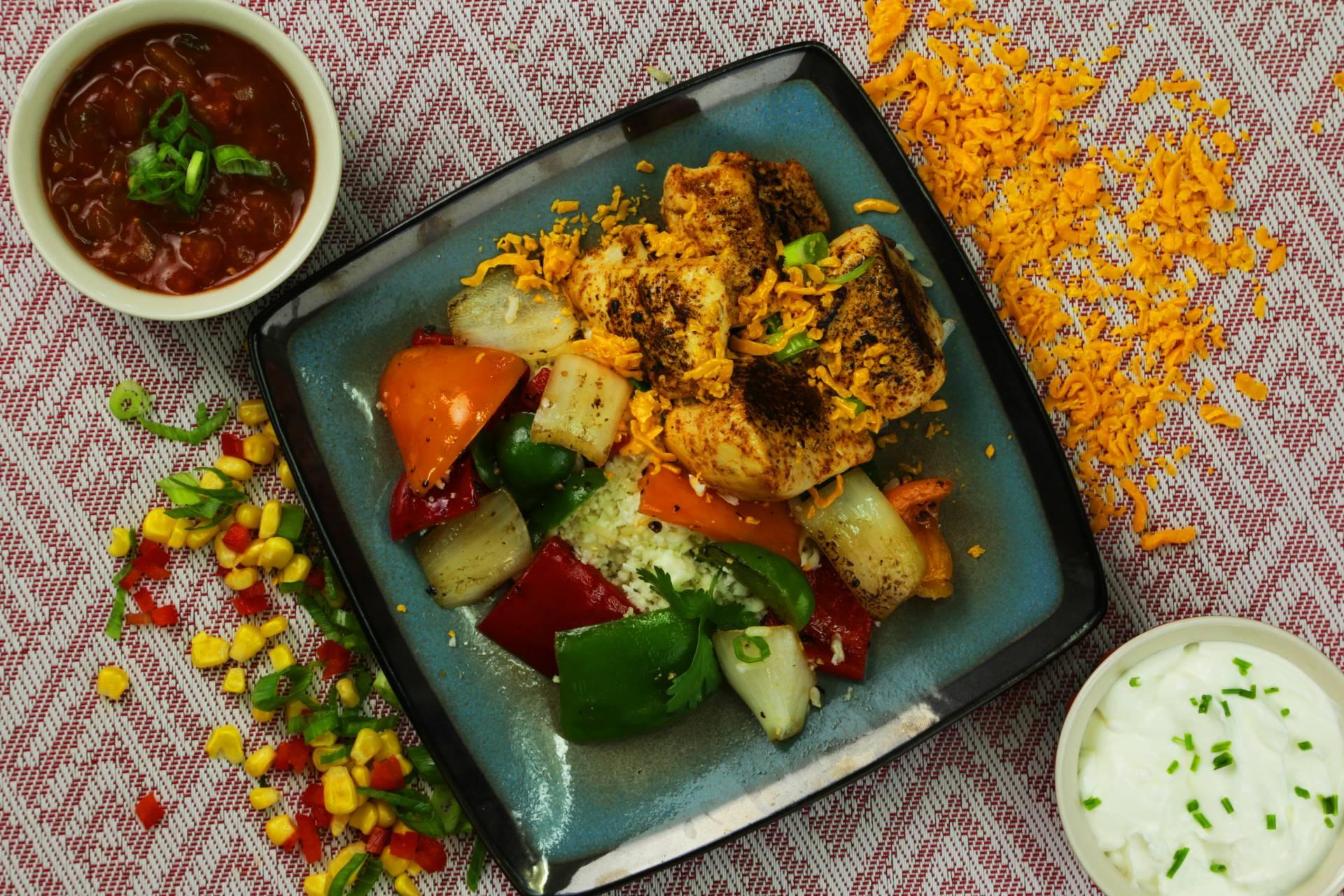 Keto Chicken Fajita